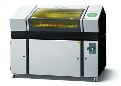 Used Roland Lef-300 Uv Curable Benchtop Printer