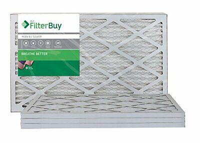 FilterBuy 14x14x1 MERV 8 Pleated AC Furnace Air Filter, , 14