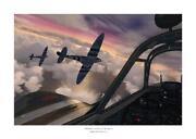 Signed Spitfire Print