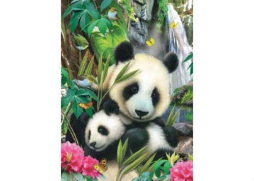 Ravensburger Panda Family 60 Piece Jigsaw Puzzle