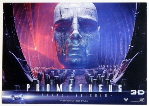 Ridley Scott PROMETHEUS lobby cards 5 original stills 2012 Alien