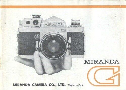 Miranda G Instruction Manual Original