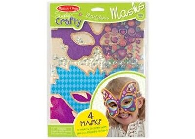 Melissa and Doug - Simply Crafty - Marvelous Masks NEW Activity Craft Toy