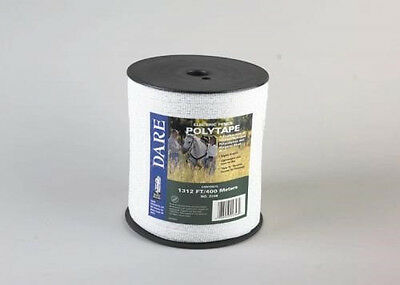 Usa Dare 12 Inch Poly Electric Fence Horse Tape 1312ft Equine Portable Fence