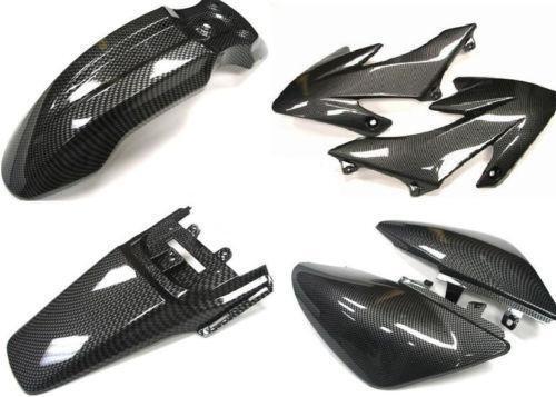125cc pit bike plastics ebay. Black Bedroom Furniture Sets. Home Design Ideas