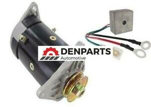 Starter Generator & Regulator For EZ-GO Cargo Shuttle Utility Cart 1994-2008