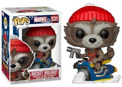 Funko POP! Marvel: Guardianes de la Galaxia: Rocket