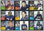 1962 Topps Football Set