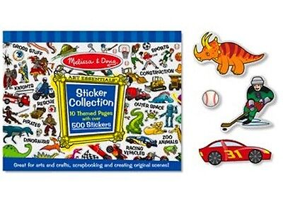 Melissa and Doug * Sticker Collection Blue * NEW arts & craft activity toy