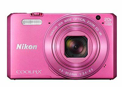 Nikon Coolpix S7000 16 MP Digital Camera - Pink