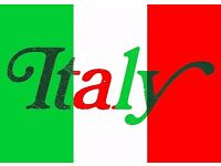 Experienced Italian language teacher with concise methods for rapid learning (London)