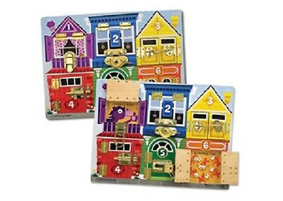 Melissa and Doug * Latches Board * NEW classic toy creative learning activities