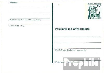 BRD (BR.Duitsland) P128 Officiële Postcard ongebruikte 1979 Kastelen u. Sloten
