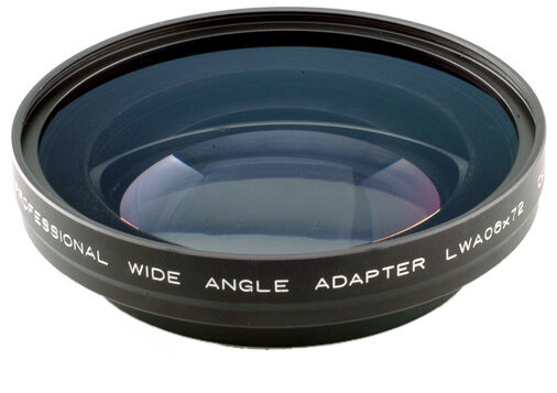 0.6x Wide Angle Adapter for 72mm Thread Lens