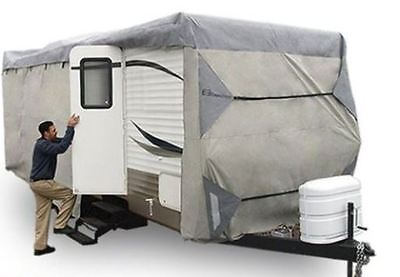 Deluxe PolyPro III RV Travel Trailer Motor Home Cover Fit 30-33' foot