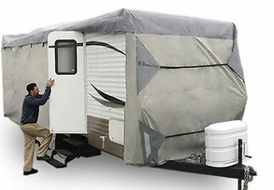Expedition RV Trailer MotorHome Cover Travel Trailer Fits 35-38 FT
