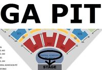 Kenny Chesney 6/9 - 2/4 ETix - Sc202 Row VV, Pit GA $50 BeloCost