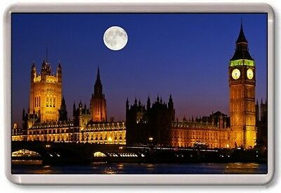 FRIDGE MAGNET - PARLIAMENT - Large Jumbo - London UK England