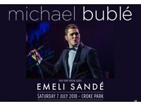 **x2 MICHAEL BUBLE & EMELI SANDÉ TICKETS** - CROKE PARK DUBLIN, SAT 7 JUL '18 6PM