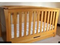 Oak Mamas and Papas cot