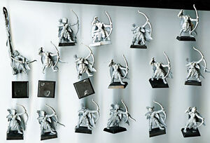 16 Glade Guard Warhammer Wood Elf (Elves Fantasy Regiment)