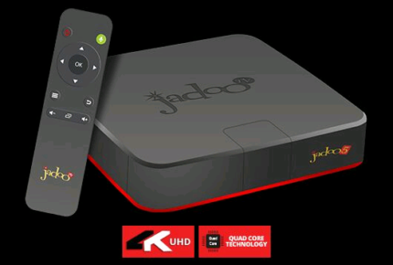 JADOO IPTV BOX - no annual charges involved