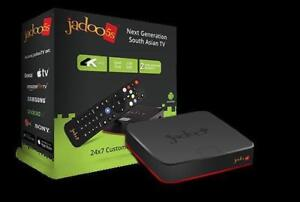 Jadoo 5s TV BOX, Brand New with Manufacturer Warranty. Store Deal!! Indian Pakistani URDU HINDI TV sports - TV BOX