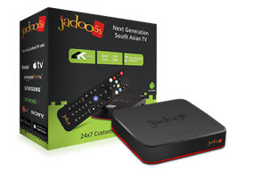 Jadoo 5s TV BOX 1000 , Urdu, Hindi,Persian,afghan ,Nepal ,Arabic