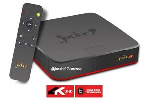 Jadoo 5 IPTV Android TV Box with Mic Air Mouse & 2 Year Warranty! Dandenong Greater Dandenong Preview