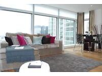( 2 ) Two bedroom, two bathroom with balcony, West Tower, Pan Peninsula Square London E14