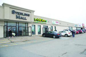 STERLING MALL LEASE OPPOURTUNITY- EXCITING SPACE FOR RENT