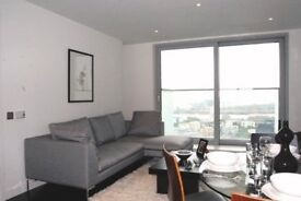 + LUXURY ONE BEDROOM APARTMENT ON THE 28TH FLOOR W/ 24 HOUR CONCIERGE IN CANARY WHARF
