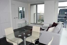 LUXURY 1 BEDROOM APARTMENT IN CANARY WHARF PAN PENINSULA ON 12TH FOOR WITH SWIMMING POOL & GYM