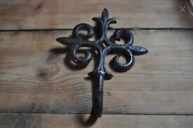 antique style cast iron hook