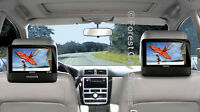 PHILIPS DUAL 9 INCH WIDESCREEN DVD PLAYERS - drive in peace !!!