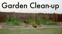 $20/hour- Garden &Yard Cleanup