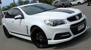 2015 Holden Commodore VF MY15 SV6 White 6 Speed Sports Automatic Sedan Caboolture Caboolture Area Preview