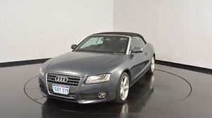 2010 Audi A5 8T MY10 S tronic quattro Grey 7 Speed Sports Automatic Dual Clutch Cabriolet Victoria Park Victoria Park Area Preview