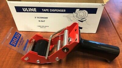 New Unlineh-567 2-inch Side Loading Hand-held Industrial Tape Dispenser