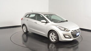 2013 Hyundai i30 GD Elite Tourer Sleek Silver 6 Speed Sports Automatic Wagon Welshpool Canning Area Preview