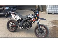 Ajs jsm50 50cc supermoto learner legal