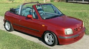 1997 Nissan March Red Automatic Slacks Creek Logan Area Preview
