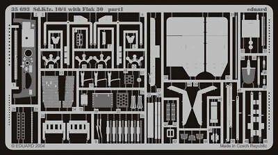 Eduard Accessories 35693 - 1:35 Sd.Kfz.10/4 Mit Flak 30 Fotoätzsatz - Ätzsatz -