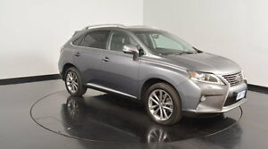 2014 Lexus RX350 GGL15R Sports Luxury Mercury Grey 6 Speed Sports Automatic Wagon Victoria Park Victoria Park Area Preview