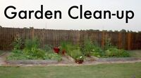 GARDEN AND YARD CLEANUP