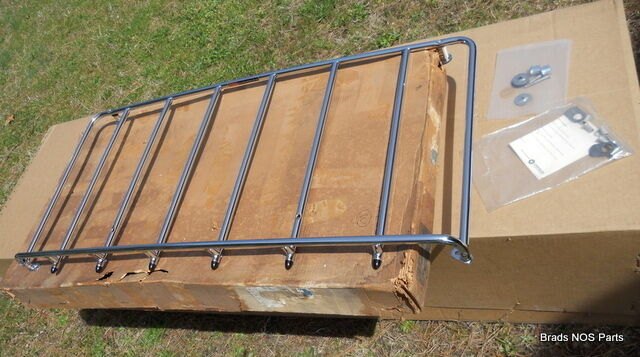 Nos Mopar 1968 69 70 Dodge Charger R/t Deck Lid Luggage Rack Pkg In Original Box