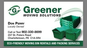 Eco-Friendly Moving Bins For Rent