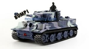 RC Mini 1/72 German Tiger Tanks with Sound GreatGiftForKids NEW