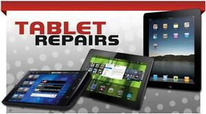 iPad / Galaxy Tab Tablet Repair Specialist:Fix Cracked screen, Charging port, Power switch, Microphone, Speaker, Battery