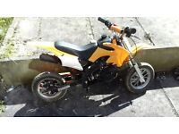 Dirt bike 50cc quad or mini moto